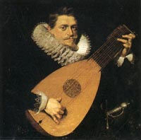 Peter Paul Rubens (attrib.), Portrait of Man with Lute, 1610-1615